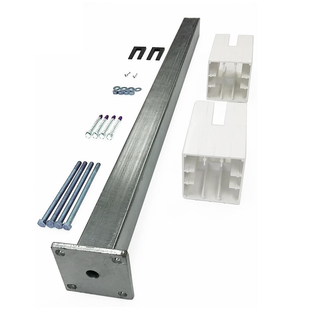 Fiberon ArmorGuard Post Sleeve Metal Surface Mount Kit
