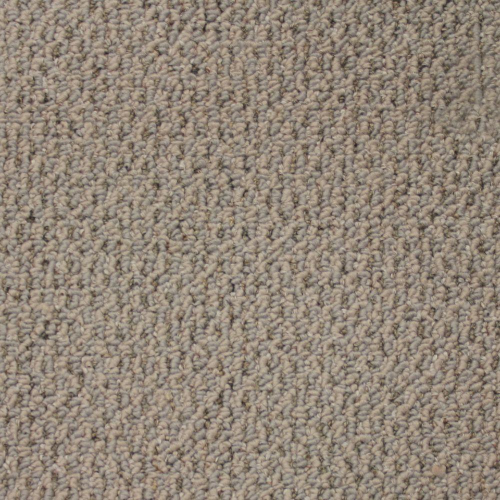 Trafficmaster Skill Set Color Silver Lining Loop 12 Ft Carpet