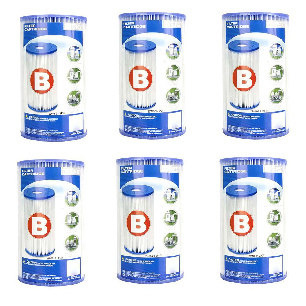 5.75 in. Dia Type B Pool Replacement Filter Cartridge (6-Pack)