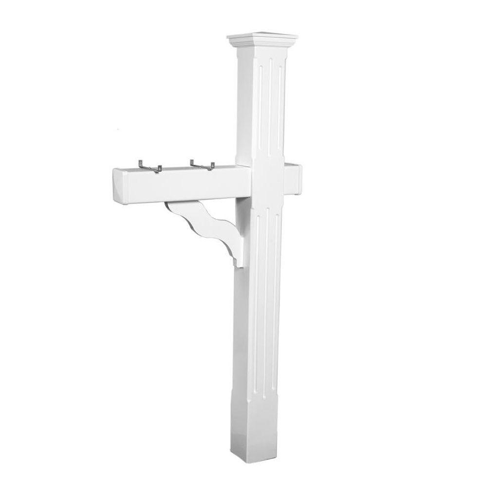 Postal Pro Winslow 5 In X Fluted Mailbox Post