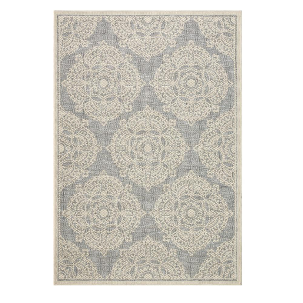 Home Decorators Collection Cleo Multi Grey 9 ft. x 13 ft. Area Rug