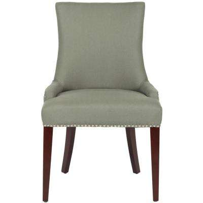 Becca Sea Mist Linen Blend Dining Chair