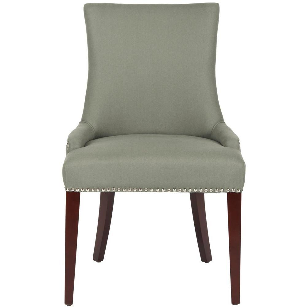 Safavieh Becca Sea Mist Linen Blend Dining Chair MCR4502D