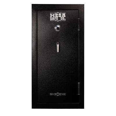 16.5 cu. ft. All Steel 30 Minute Burglary/Fire Safe with Combination Dial Lock, Black