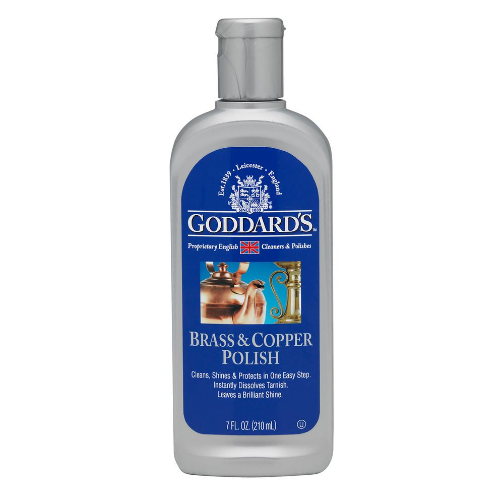 Goddards 7 Oz Brass And Copper Polish 708184 The Home Depot