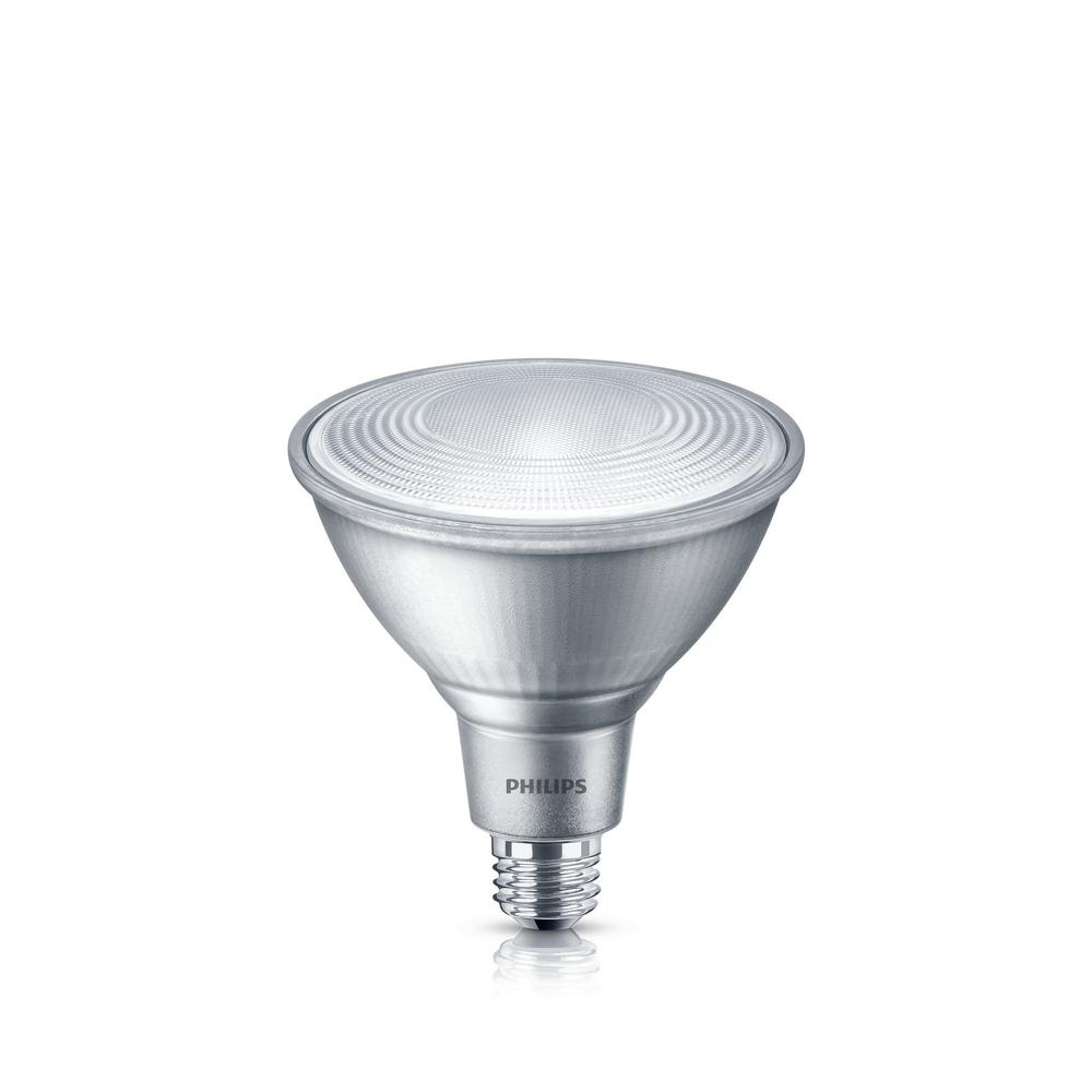 philips 90 watt equivalent halogen par38 dimmable philips 90w equivalent par 38 blue led flood light bulb 247