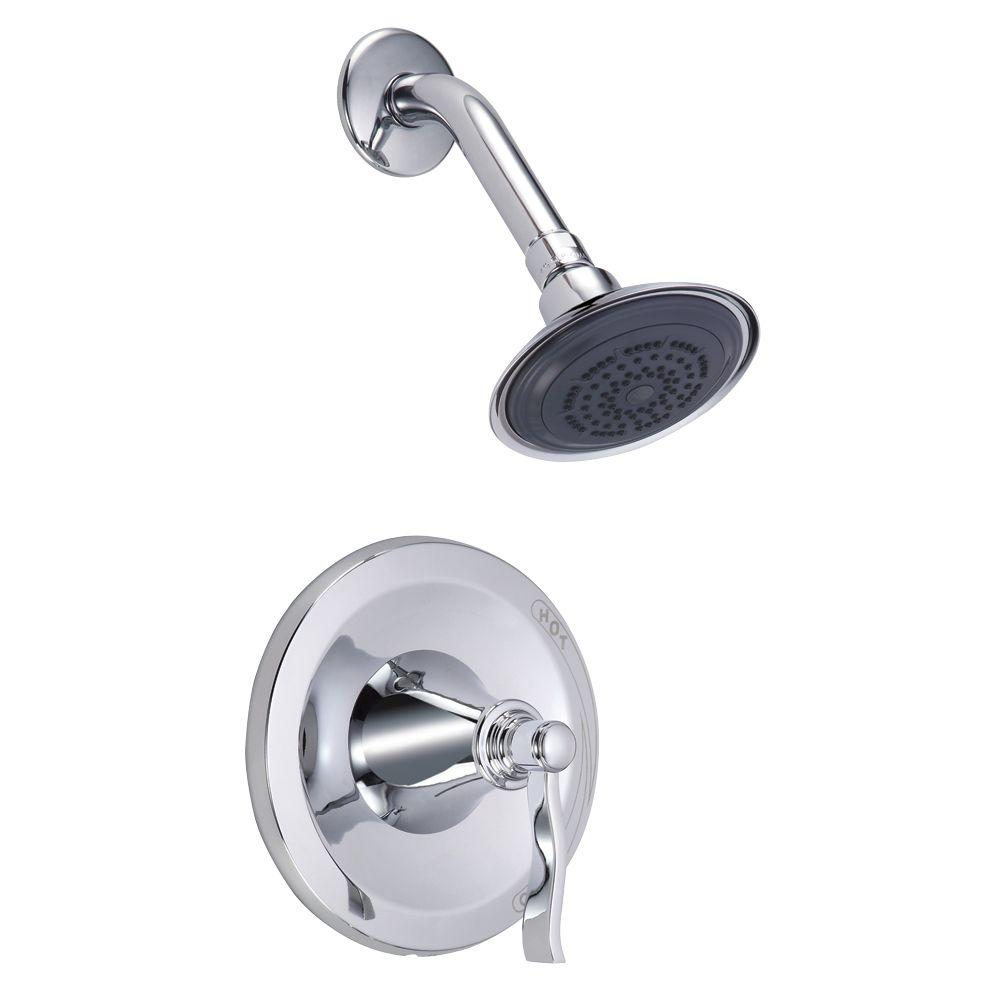 Danze Aerial 1-Handle Pressure Balance Shower Only Faucet with Valve in Chrome-DISCONTINUED