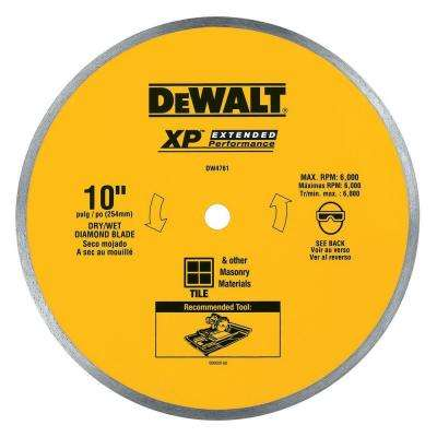 10 in. x 0.060 in. Wet Ceramic Tile Blade