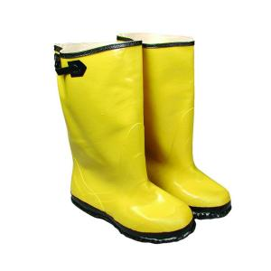 West Chester Size 13 Yellow Slush Boot Black Buckle and Sole by West Chester