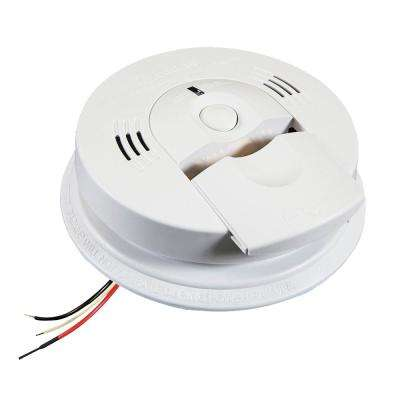KN-COSM-IBA Hardwired Smoke and Carbon Monoxide Detector with Battery Backup and Voice Alarm