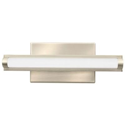 Contemporary Arrow Brushed Nickel 3K LED Vanity Light