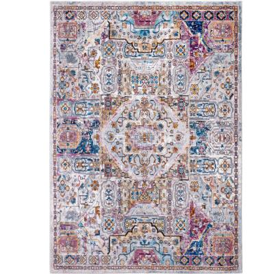 Parlin Ivory/Multi 8 ft. x 9 ft. Indoor Area Rug