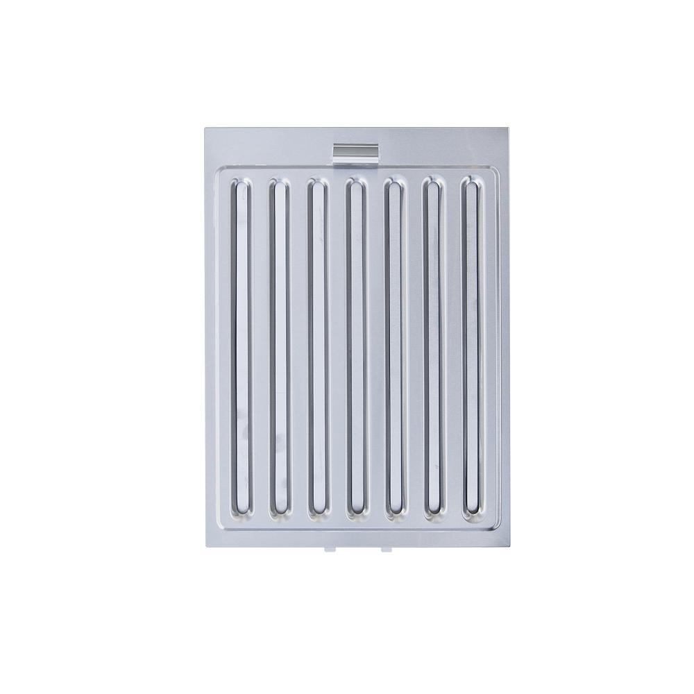 ra77 series range hood stainless steel baffle filter