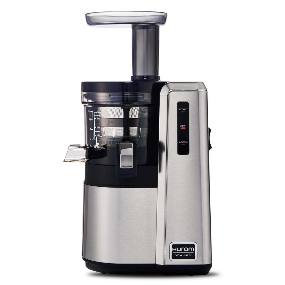 Slow Juicer Di Ace Hardware : Hurom Slow Juicer in Silver-HZ-SBB17 - The Home Depot