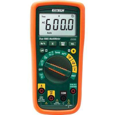 True RMS Professional MultiMeter with NCV and Temperature Measurements