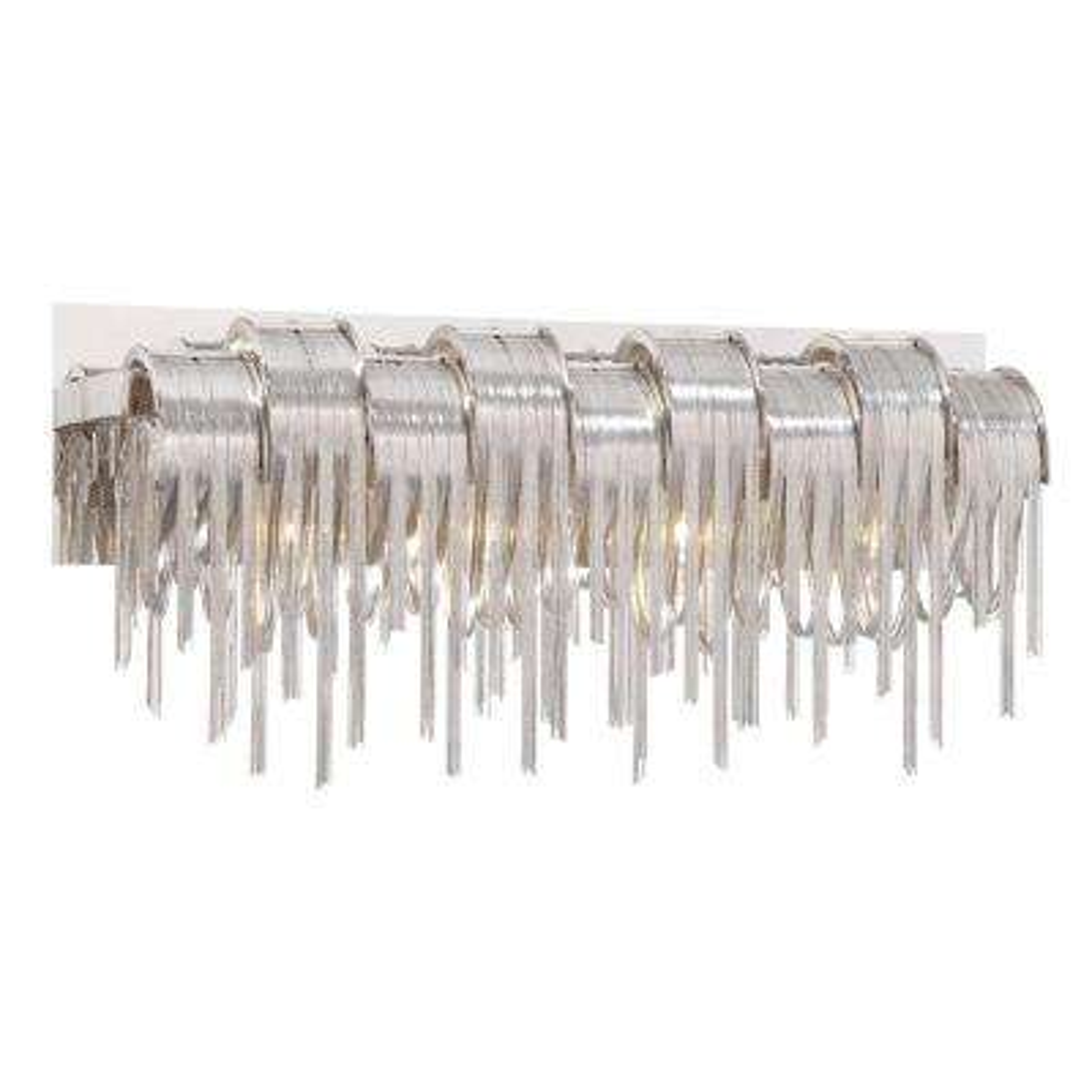 Avenue Collection 4-Light Satin Nickel Bath Bar Light