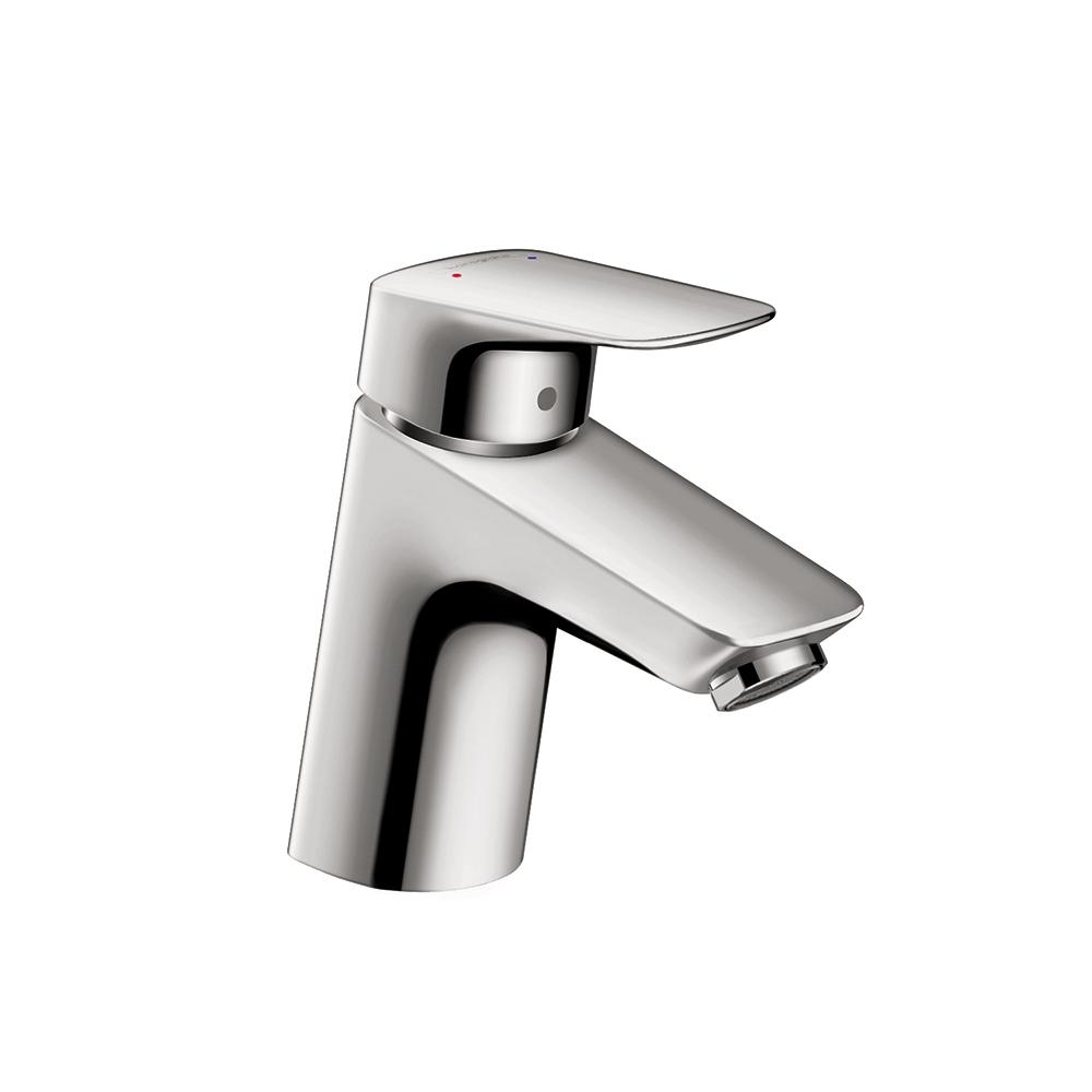 Logis 70 Single Hole Single-Handle Bathroom Faucet with Drain in Chrome