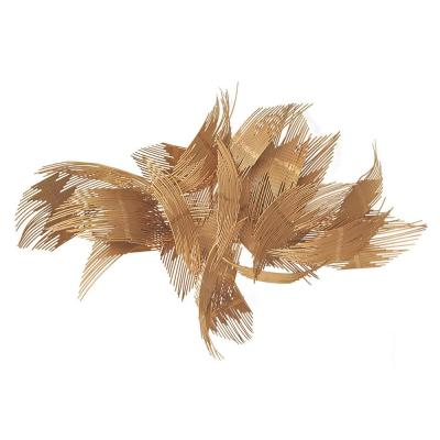 25 in. Metal Wall Decor - Copper