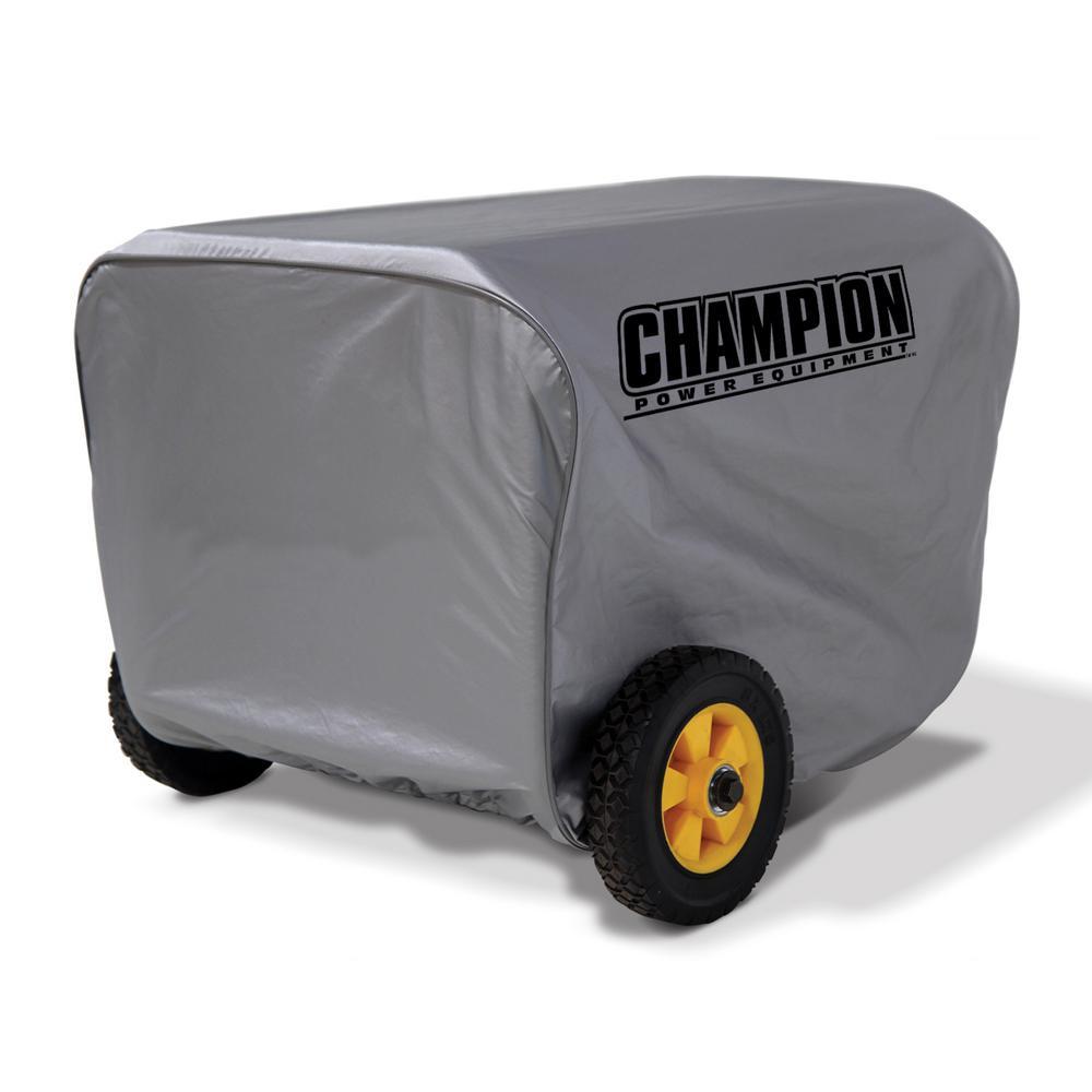 Champion Power Equipment Medium Weather Proof Custom Made Vinyl Generator Cover