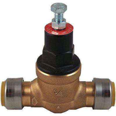 3/4 in. Bronze EB-45 Direct Push-to-Connect Pressure Regulating Valve