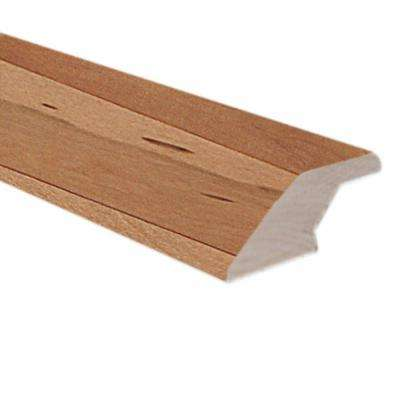 Red Oak Natural 0.70 in. Thick x 2.16 in. Wide x 78 in. Length Hardwood Lipover Reducer Molding