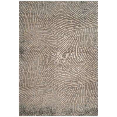 Meadow Taupe 6 ft. 7 in. x 9 ft. Area Rug