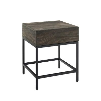 Jacobsen 22.5 in. Brown Ash End Table