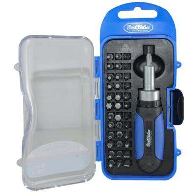 Screwdriver and Bit Tool Set (38-Piece)
