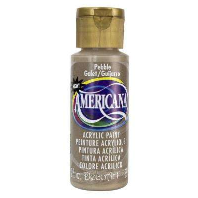 Americana 2 oz. Pebble Acrylic Paint