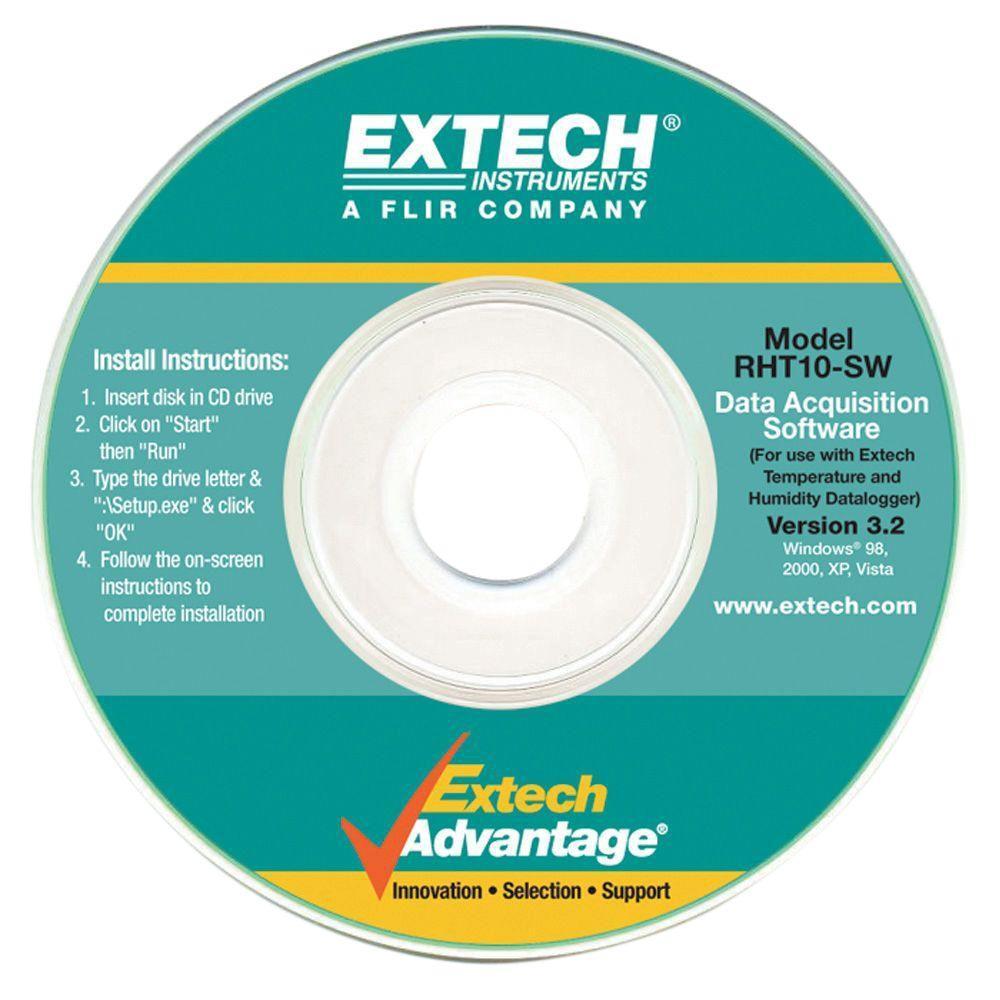 Extech Instruments GPP (g/kg) Software for RHT10-SW