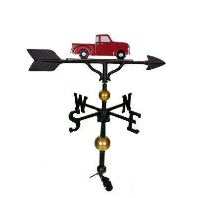 32 in. Deluxe Red Classic Truck Weathervane