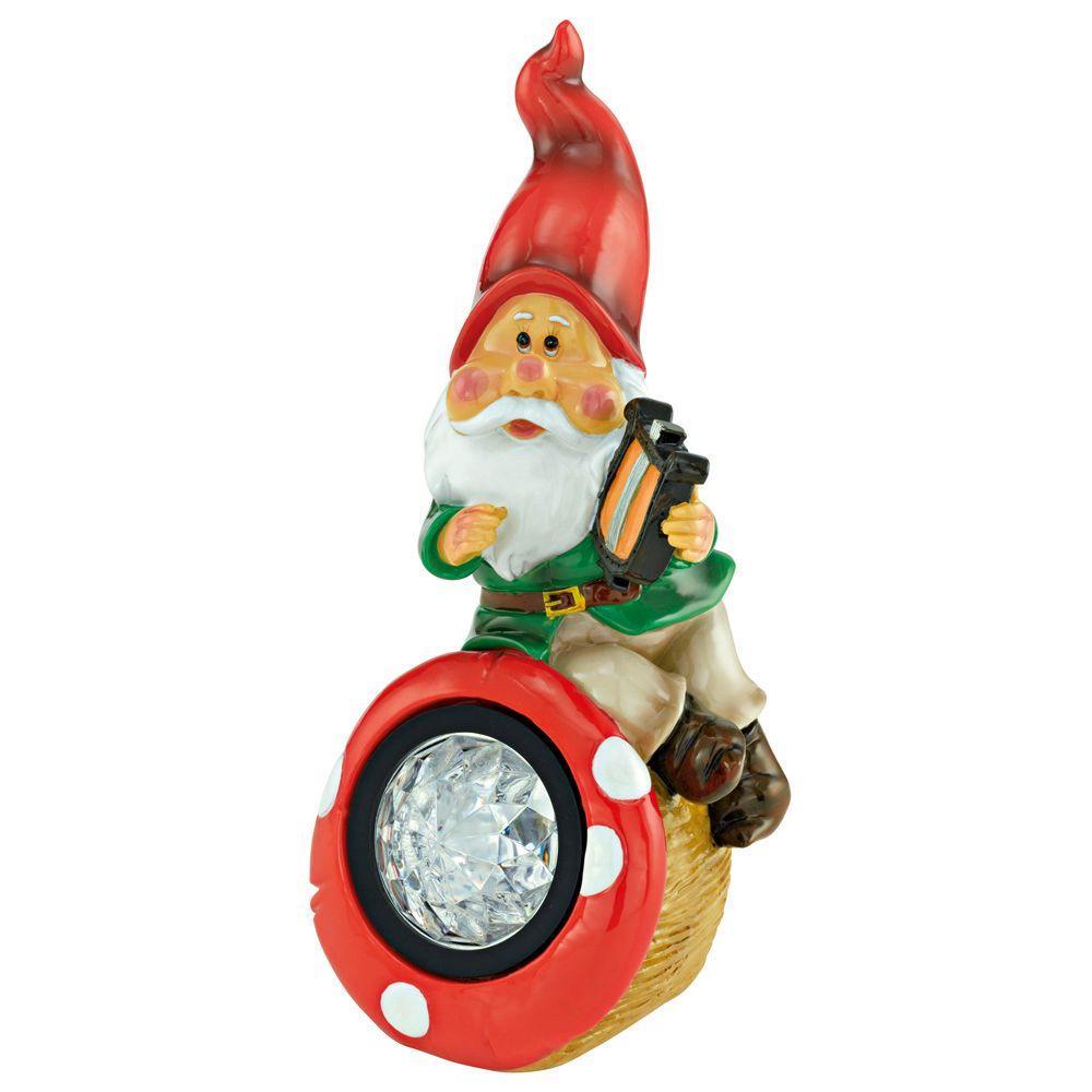 Eglo Elf Solar LED Multi-Color Outdoor Gnome Light