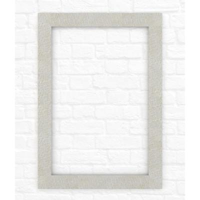 33 in. x 47 in. (L1) Rectangular Mirror Frame in Stone Mosaic