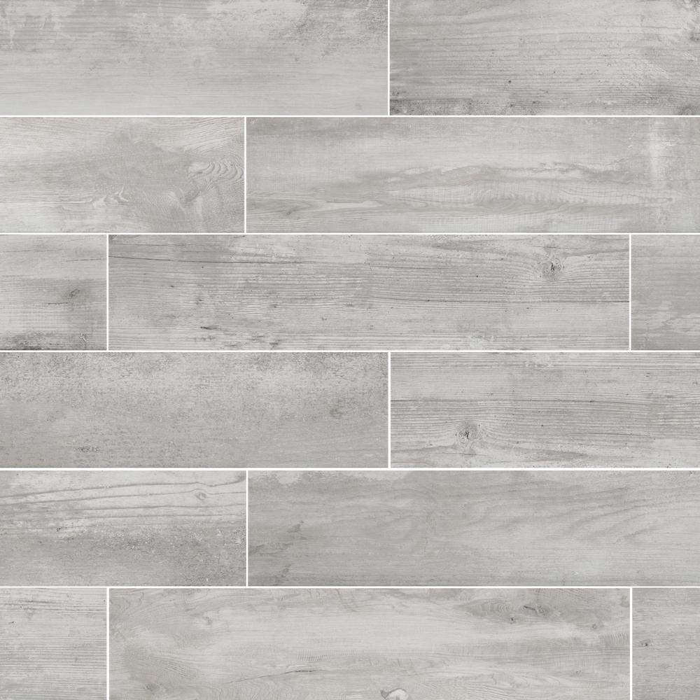 Florida Tile Home Collection Alaskan Powder 8 In X 36 Porcelain Floor And Wall 367 2 Sq Ft Pallet