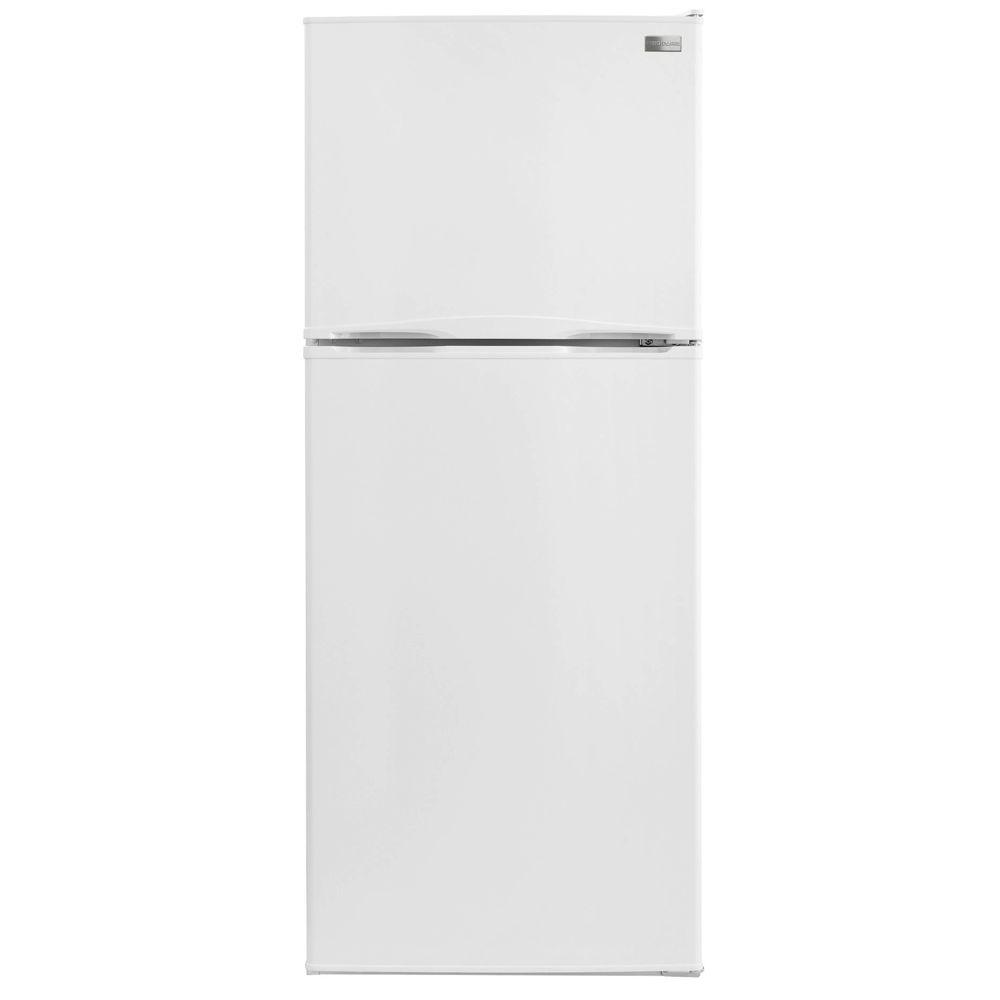 Frigidaire 9.9 cu. ft. Top Freezer Refrigerator in White-DISCONTINUED