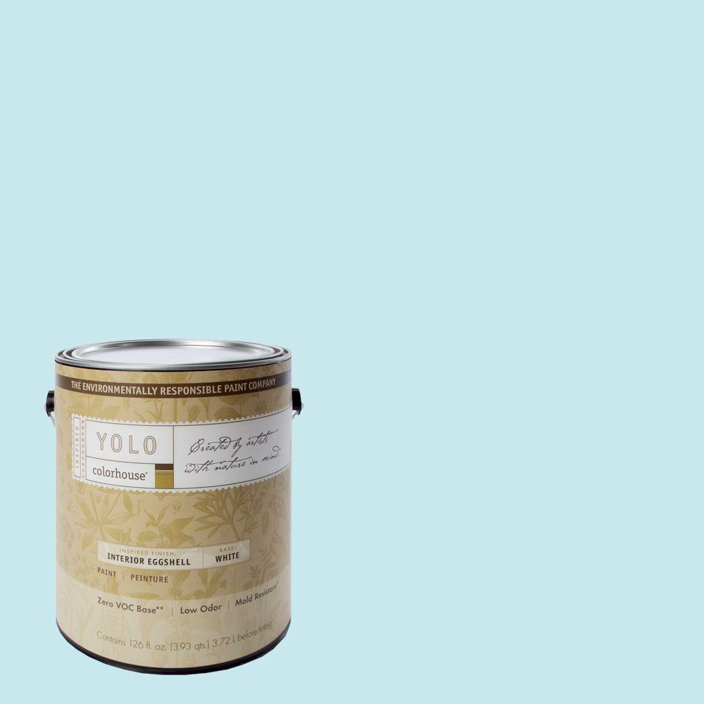 YOLO Colorhouse 1-gal. Dream .01 Eggshell Interior Paint-DISCONTINUED
