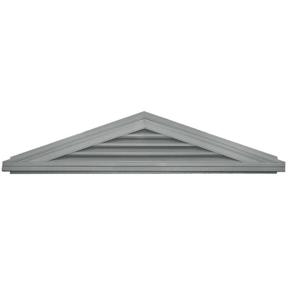 Builders Edge 4/12 Triangle Gable Vent #030 Paintable