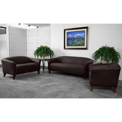 Hercules Imperial Series 3-Piece Brown Reception Set
