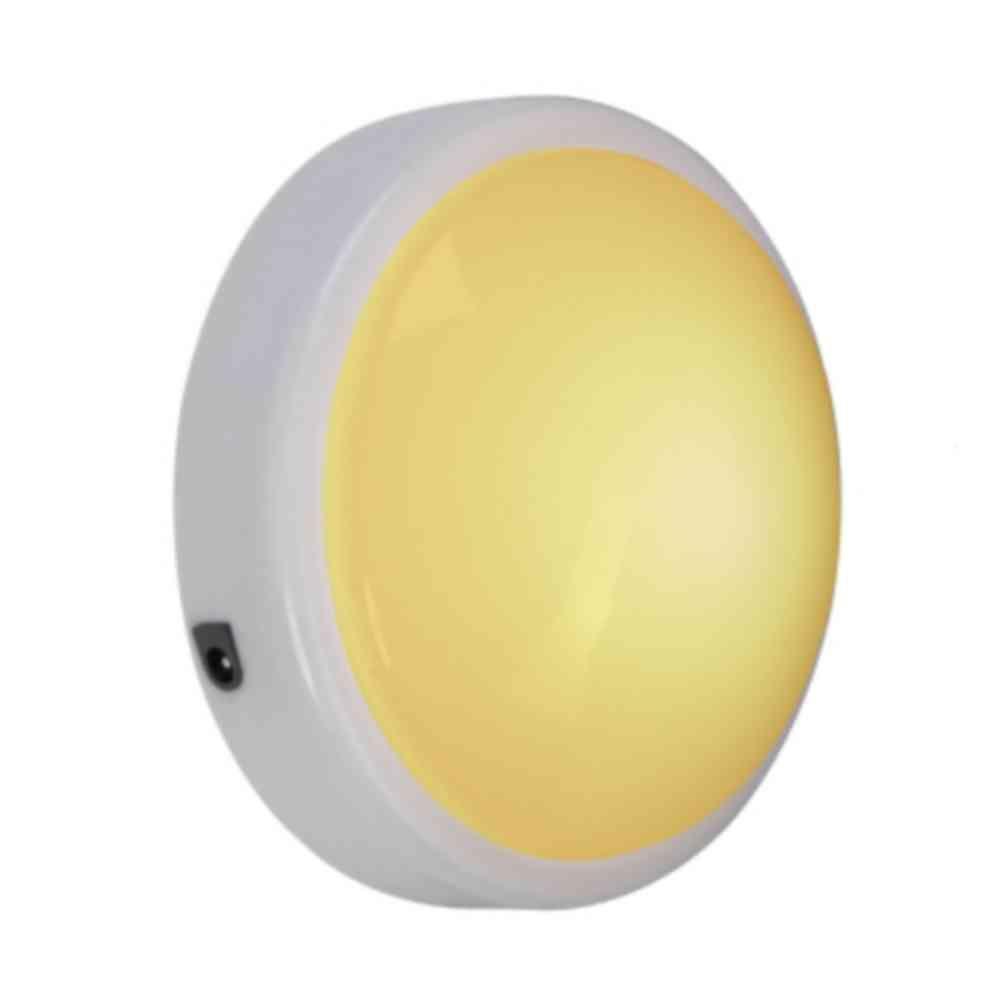 5.5 in. 7-Watt Moon Incandescent Light Bulb - White