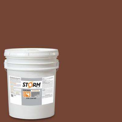 Category 4 5 gal. Melted Chocolate Matte Exterior Wood Siding 100% Acrylic Latex Stain