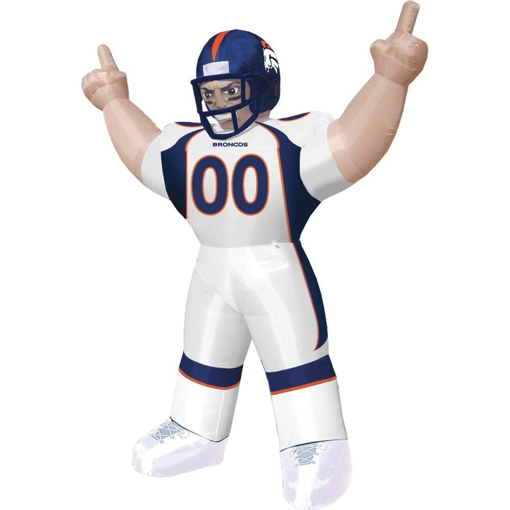 null 8 ft. Inflatable NFL Denver Broncos Player Tiny - $99 VALUE-DISCONTINUED
