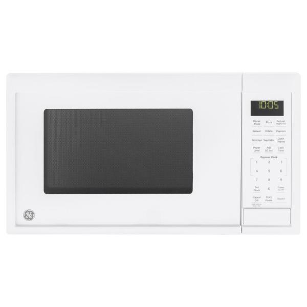 0.9 cu. ft. Countertop Microwave in White