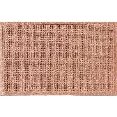 Medium Brown 24 in. x 36 in. Polypropylene Door Mat