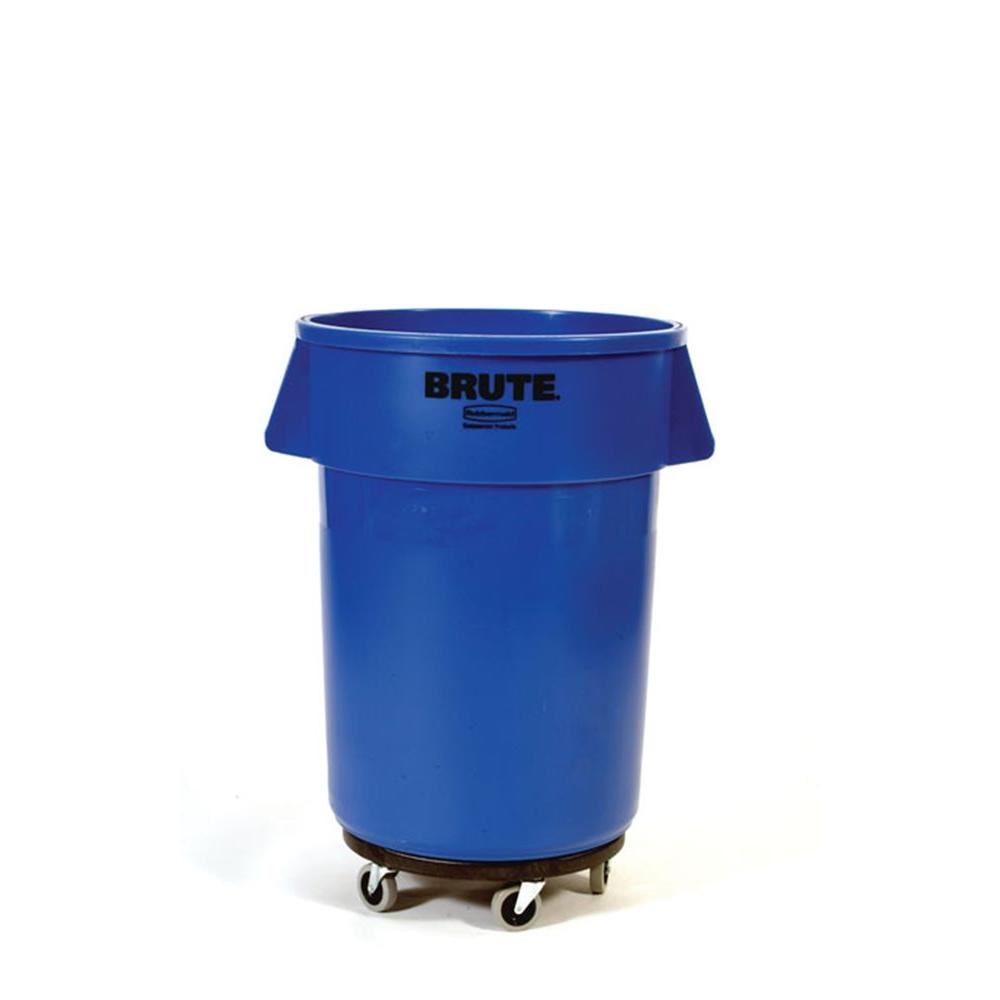 Brute Trash Can Dolly Garbage Swivel Bearing Chip Rust