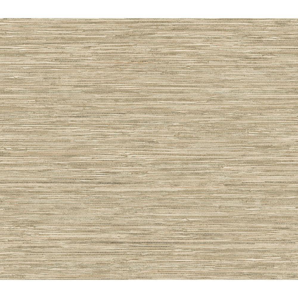 The Wallpaper Company 56 sq. ft. Beige Grasscloth Wallpaper
