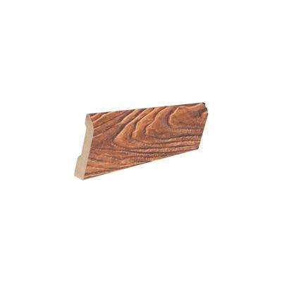 Cinnamon Color 16 mm Thick x 3-1/4 in. Wide x 94 in. Length Laminate Wall Base Molding