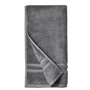 Turkish Cotton Ultra Soft Hand Towel in Charcoal
