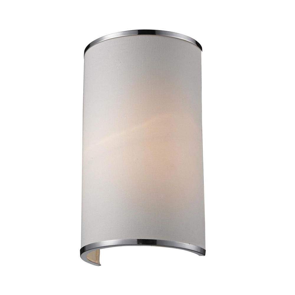 Lawrence 1-Light Chrome Incandescent Sconce