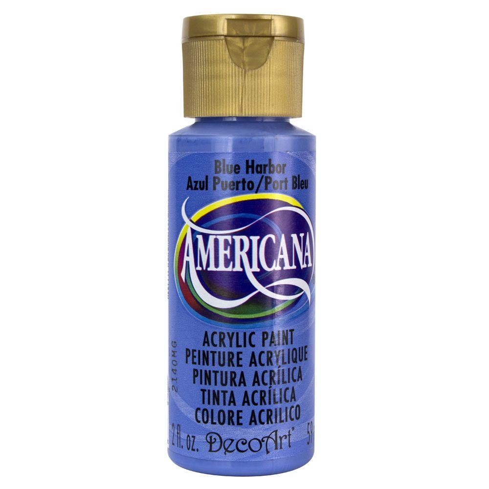 Americana 2 oz. Blue Harbor Acrylic Paint