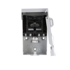 Siemens 60 Amp Non Automatic Switch Ac Disconnect In A Steel Enclosure Wnas2060 The Home Depot
